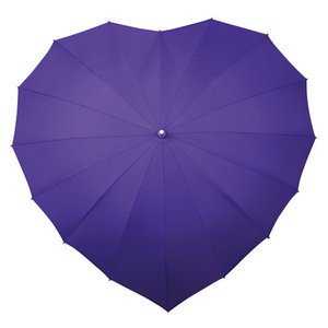 paarse hart paraplu