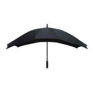 zwarte duo paraplu