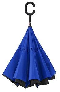 Ondersteboven paraplu Blauw