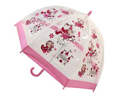 Bugzz doorzichtige kinderparaplu Prinses