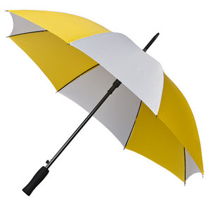 Golfparaplu Geel - Wit