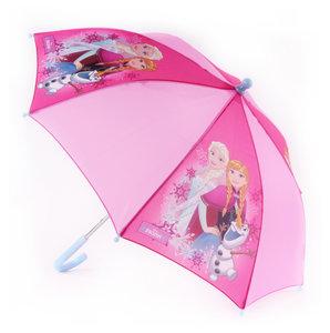 Frozen Paraplu Roze